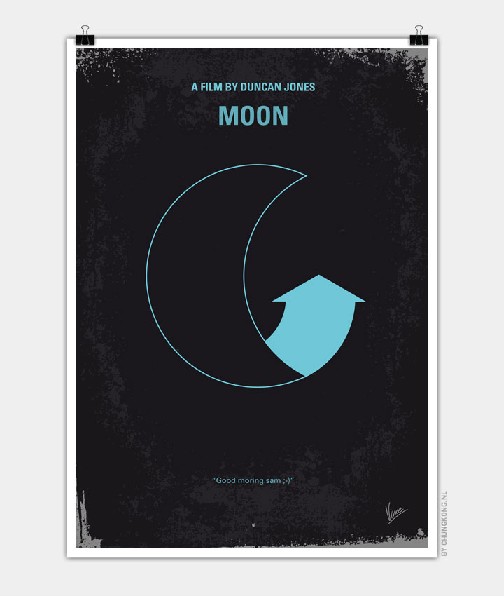 Moon Minimalist Movie Poster