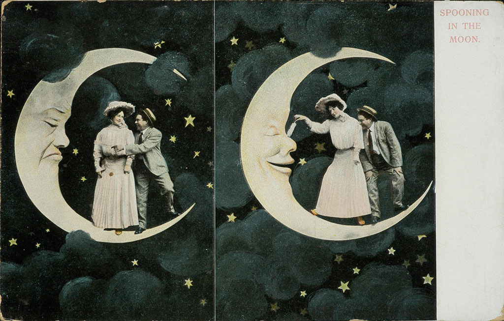Postcards from the Moon (circa 1906)