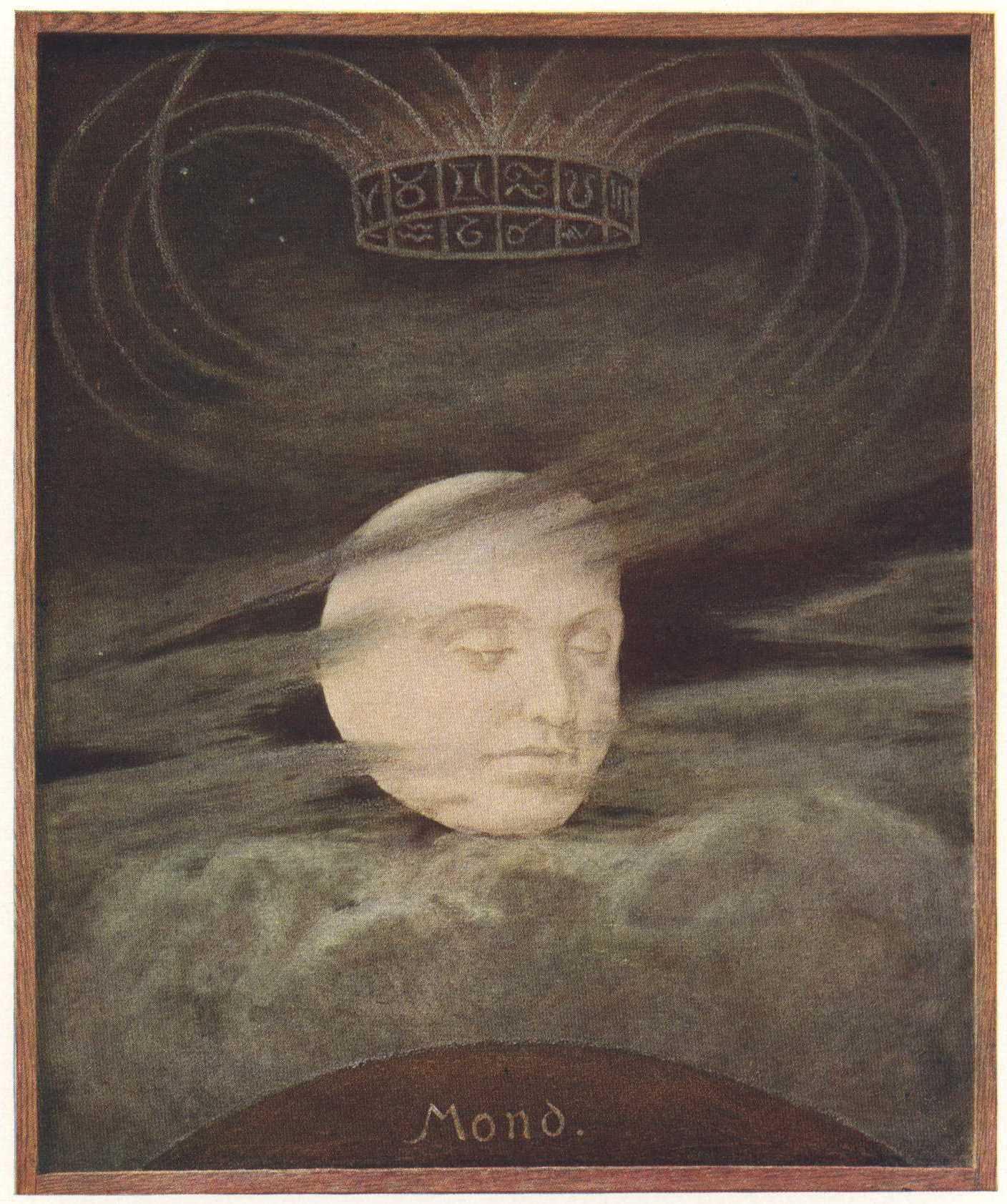 Mond, Hans Thoma