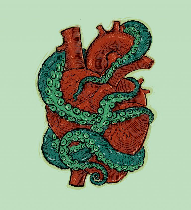 octopus-heart