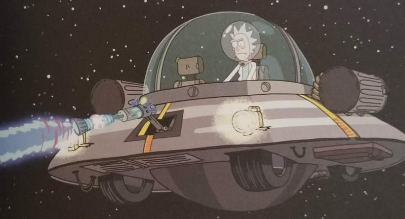 the space cruiser