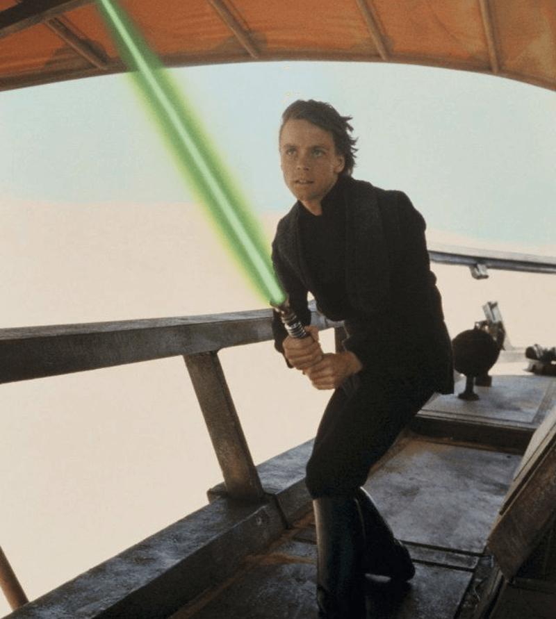 Luke Skywalker's second lightsaber